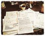Papierowe faktury
